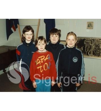 Ragga, Sæbjörg, Margrét og Bergey.