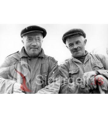 Beggi vinur og Guðjón Lögbergi.