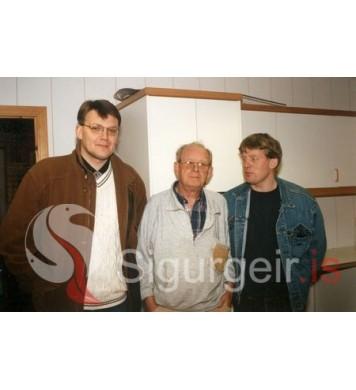 Sighvatur, Lalli Long og Viðar Ella.