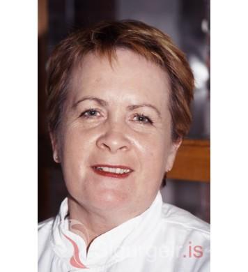 Margrét Lárusdóttir.
