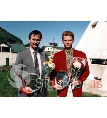Hermann og Valgarð.