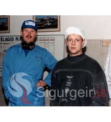 Sævar Halldórs og Helgi Einars.