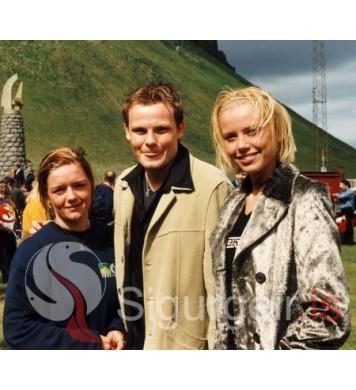 Hrund, Bjarnólfur og Ragnheiður.