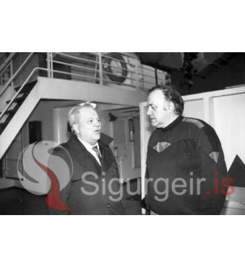 Tryggvi Jónasson og Jón Eyjólfsson.