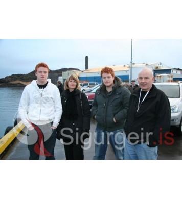 Kristinn, Guðbjörg, Magnús og Þórarinn.