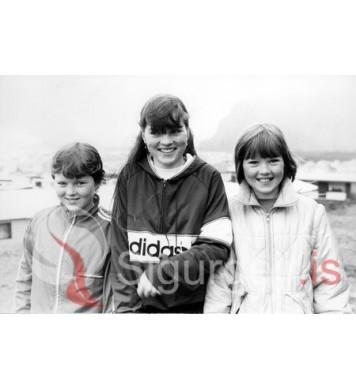 Stefanía, Ingunn og Laufey.