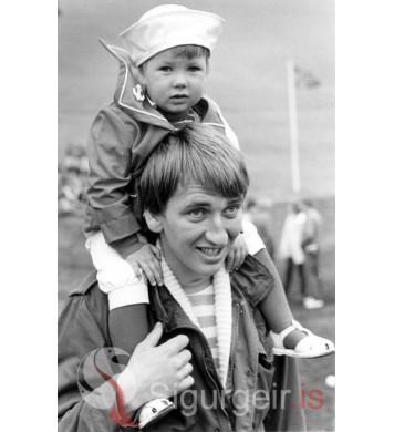 Þjóðhátíð Vestmannaeyja 1982.