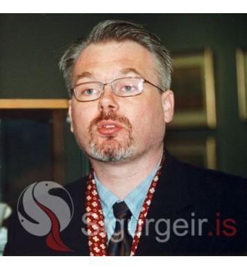 Bergur Elías Ágústsson.