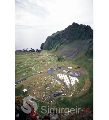 Þjóðhátíð Vestmannaeyja 1992.