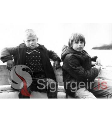 Gulli og Sigrún Inga.
