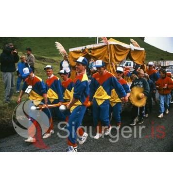 Þjóðhátíð Vestmannaeyja 1989.