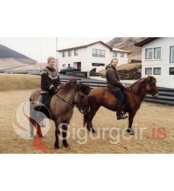 Sigríður Elka og Steinn Másson.
