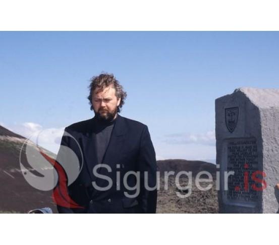 Guðlaugur Friðþórsson.