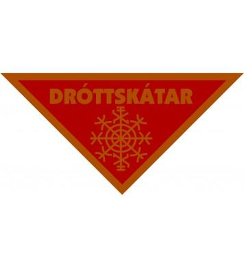 Ofið dróttskátamerki brons