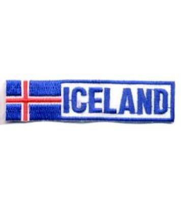Ílangt, fána merki (Iceland)