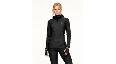 Johaug Advance Tech-Wool Hood Black