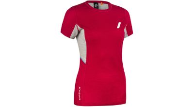 BD TRAINING WOOL SUMMER TSHIRT DÖMU  BRIGHT ROSE