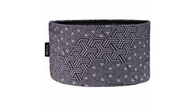 Bula printed 100% merino wool headband Greym