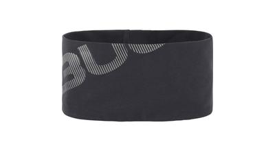 Bula Cross Headband Dark Grey