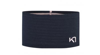 Kari Traa Tikse 100% merino Headband Marin