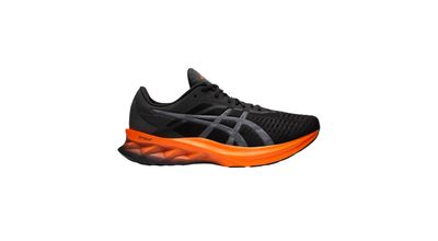 Asics Novablast Karla BLACK/MARIGOLD ORANGE