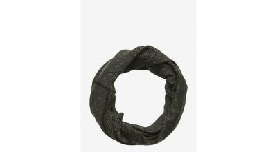 Bula printed 100% merino wool tube Grey