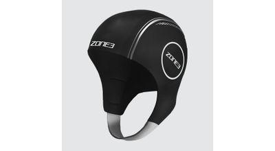 Zone 3 NEOPRENE SWIM CAP Black