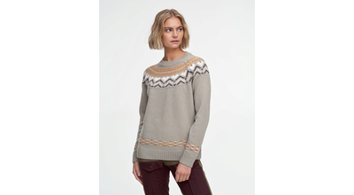 Kari Traa Sundve knit Slate Ullarpeysa