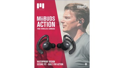 MiiBUDS ACTION by MIIEGO® – TRUE WIRELESS EARBUDS