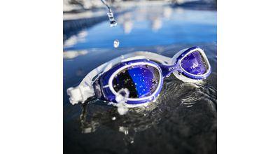 Zone 3- Attack Swim Goggles - POLARIZED LENS - PURPLE/WHITE