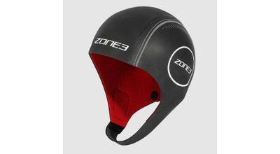 Zone 3 NEOPRENE HEAT-TECH WARMTH SWIM CAP Black