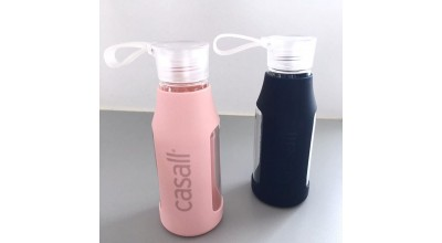 Casall Grip Light Bottle 0,4 L  Red / Pink / Navy Blue