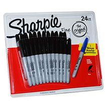Sharpie  24 svartir