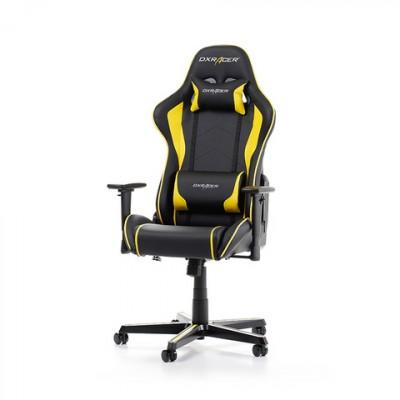 DXRACER Formula Gaming Chair GC-F08-NY-H1 Svartur Gulur