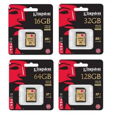 Kingston 64GB Ultimate SD minniskort - HD Video-001