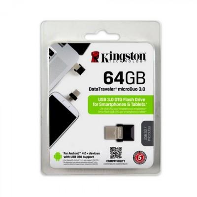 Kingston DataTraveler microDuo USB OTG 64GB  minnislykill.