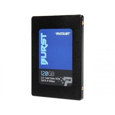 Patriot burst 120 GB, Solid State Drive black, SATA 6 Gb  s, 2.5