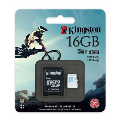 . Kingston Micro SD SDXC Memory Card for Action Camera  2