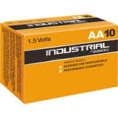 Duracell Inndustrual AAx10, Batterie2