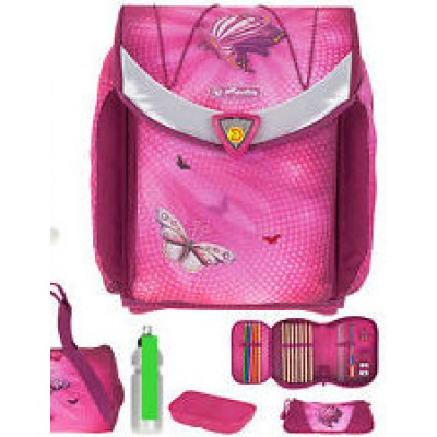 Herlitz flexi plus butterfly power, Satchel pink2-002