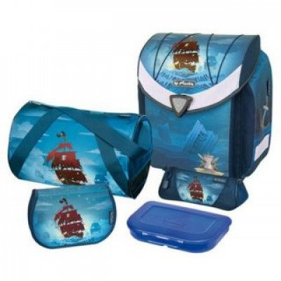 Herlitz flexi plus piratebay, Satchel (blue) 1