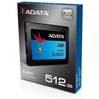 ADATA SU800 512GB, solid state drive 2.5 , SATA 6Gb