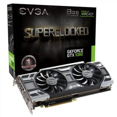 EVGA GeForce GTX 1080 SC Gaming, graphics card