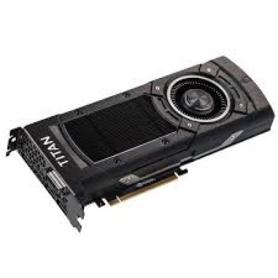 EVGA GeForce GTX TITAN X superclocked, graphics card 1