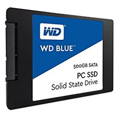 Western Digital Blue 500 GB Solid State Drive SATA 6Gb  2.5