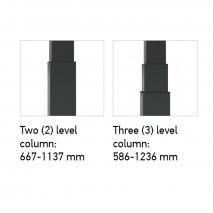 Active rafmagnsskrifborð. Kemur í lengd frá 120-180cm og 70-80cm dýpt með prófíllaga fótum