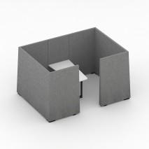 Jazz Silent Box bólstraðir veggir