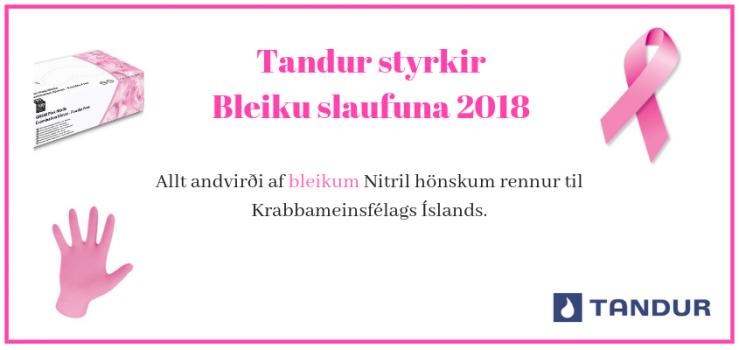 Bleikur október 2018
