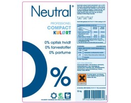 Neutral Color þvottaduft 11,2 KG