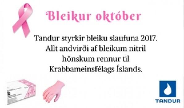 Bleikur október